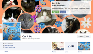 Cat A Do is on Facebook
